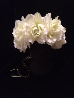 #60s #70s #Hippie #Ivory #Rose #DaisyChain by #EmpireCoutureCostume