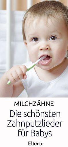 Schon ab dem ersten Zahn sollten Eltern auf die Mundhygiene ihres Kindes achten. Oft ist es jedoch schwierig, einem Baby Zahnpflege näher zu bringen. Mit lustigen Reimen und Zahnputzliedern wird das leidige Thema Zähneputzen zum Kinderspiel.