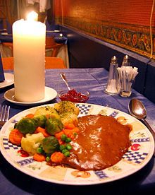 Norwegian cuisine - reinsdyrsteik, reindeer steak