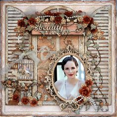 Life's little Embellishments: Beauty ***Dusty Attic***Maja Design***