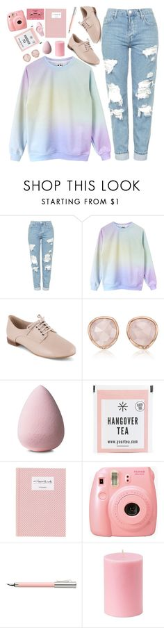 """Untitled #1154"" by xxxmakeawish ❤ liked on Polyvore featuring Topshop, Clarks, Monica Vinader, Faber-Castell and Ice-Watch"