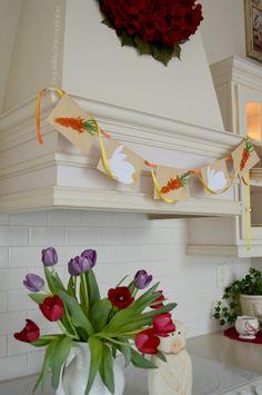 Exquisitely Unremarkable : Easy Easter Garland Banner