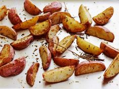 Few side dishes satisfy like warm, crispy roasted potatoes, showered with just the right touch of sea salt.