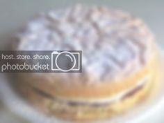 Feather-Light Sponge Cake with Jam & Cream – Corner Café Light Sponge Cake Recipe, Sponge Cake Recipe Best, Sponge Cake Recipes, Tall Cakes, Round Cakes, Cooking Ingredients, Cake Ingredients, Cooking Recipes, Lemon Coconut Slice