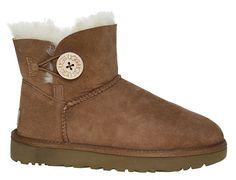 UGG Boot | Mini Bailey Button - braun | chestnut  #ugg #uggboot #uggboots