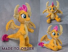 This toy is made of Minky Cuddle 3 and holofiber. There are glass granules in the feet. The dragon can sit and stand with support. The plush has a frame in the wings only. The height of the plushie dragon is 11 inches. Disney Duck, Walt Disney, Stan Freberg, Don Rosa, Duck Wallpaper, Collection Disney, 1970s Cartoons, Woody Woodpecker, Scrooge Mcduck