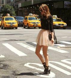 Tutu skirt style