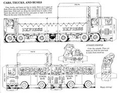 Mostly Paper Dolls Too!: Cut-Out Cars, Trucks & Buses by Richard Scarry.