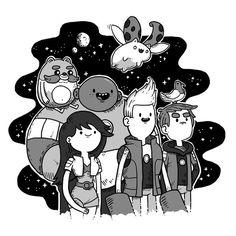 Bravest Warriors - Space Adventurers by ~laurenzloehr on deviantART