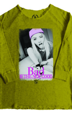 BAD NEW GOOD grau Sweatshirt Damen Boom Bap Herren