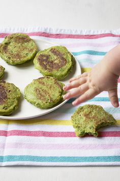 pea fritters baby gr