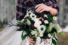Bridal Photos with a Plaid Shirt   KMitiska Photography on @rockymtnbride via @aislesociety