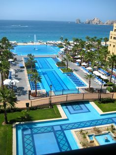 Andrew and I officially have our honeymoon booked! Yayyyy :) Riu Santa Fe Cabo San Lucas - 24 Hour - All Inclusive Need A Vacation, Vacation Places, Dream Vacations, Vacation Spots, Cabo San Lucas Mexico, Mexico Vacation, Great Hotel, Cool Pools, Places To Go