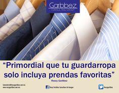 Incluye en tu clóset sólo prendas favoritas #LograTuMejorImagen Rossy Garbbez, AICI CIM