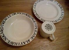 Emma Bridgewater Toast & Marmalade - Child's Toast & Marmalade Mug, Bowl & Plate Boxed Set
