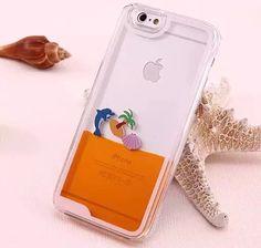 24c48da25 50x New Hot Sale Flowing Liquid Transparent Hard Skin Back Cover Case For iPhone  6 Plus