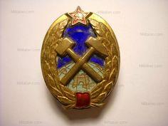 Distintivo di Ingegnere Minerario  U.R.S.S., anni '50