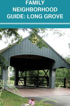 Filled with cobblestone streets and historic charm, Long Grove is Illinois' first historic district and it's a close 35 miles from Chicago. Long Grove, Fun Activities, Illinois, Gazebo, The Neighbourhood, Chicago, Outdoor Structures, Street, Outdoor Decor