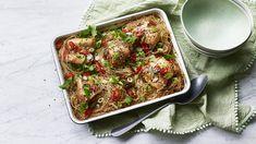 Teriyaki chicken noodles recipe - BBC Food Teriyaki Chicken Noodles, Chicken Noodle Recipes, Chicken Thigh Recipes, Asian Recipes, New Recipes, Cooking Recipes, Favorite Recipes, Healthy Recipes, Cooking Stuff