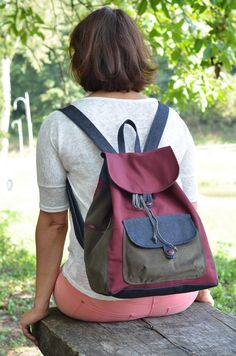 backpack by mnogonitok