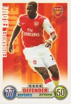 2007-08 Topps Premier League Match Attax #3 Emmanuel Eboue Front