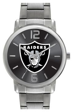 Women's Game Time Watches 'NFL All Around - Oakland Raiders' Bracelet Watch