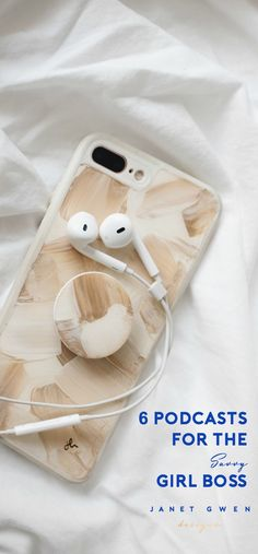 Podcasts for the girl boss.   Available for iPhone 6 Cases   iPhone 6 Plus Cases   iPhone 7 Cases   iPhone 7 Plus Cases   iPhone Cases   Phone Cases for Girls   Marble Phone Case Fashion Trend   Phone Case with PopSockets