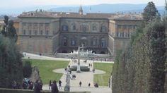 Palais Pitti et jardin di Boboli