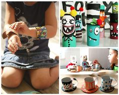Toilet Paper Roll Crafts | 43 Things to Never Throw Away by DIY Ready at http://diyready.com/43-things-to-never-throw-away/