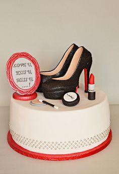 High Heel Shoes Cake