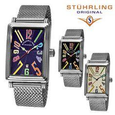 Stuhrling Original Unisex Uptown Ozzie Mesh Watch mesh watches here http://www.shop.com/sophjazzmedia/~~mesh+watches-internalsearch+260.xhtml