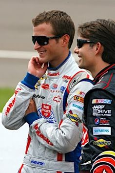 Kasey Kahne #5 & Jeff Gordon #24 Hendrick Motorsports Teammates