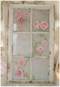 Shabby Romantic Window