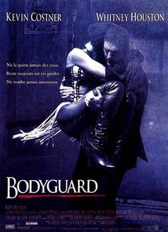 THE BODYGUARD (1992): A former Secret Service agent takes on the job of bodyguard to a pop singer, whose lifestyle is most unlike a President's.