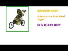 Check Out Schwinn Arrow Fixed Wheel Jogger