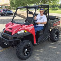 Thanks to Billy Cochran from Wiggins MS for getting a 2016 Polaris Ranger XP 570 at Hattiesburg Cycles