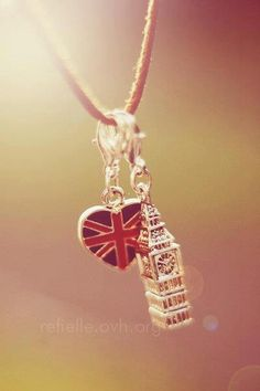 London charm...makes me think of Capt. Jack....