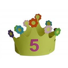 Diy Birthday Crown, Birthday Crowns, Diy For Kids, Crafts For Kids, Crown Crafts, Flower Costume, Crown Party, Birthday Cartoon, Paper Crowns