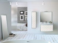 ¿Qué te parecen los baños decorados con un estilo craquelado?