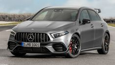 The 2019 Mercedes-Benz AMG takes hot hatches to the next level. A massive 387 hp standard and 421 hp S variant. Mercedes Benz Unimog, Mercedes Hatchback, A Class Amg, Benz S Class, Mercedes A Class, Mercedes Models, Classe A Amg, Top Luxury Cars, Cars
