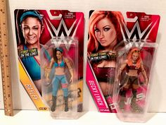 WWE Bayley & Becky Lynch Action Figures NEW - http://bestsellerlist.co.uk/wwe-bayley-becky-lynch-action-figures-new/