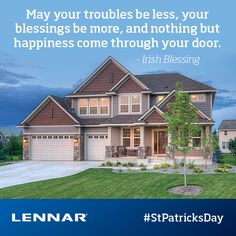 Happy St. Patrick's Day from us here at Lennar Raleigh! #lennarraleigh #stpatricksday #weargreen