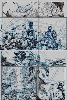 1st look at 3 stunning pages of Avengers #1 pencil art | Blastr