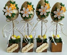 Disney Diy Crafts, Diy And Crafts, Easter Table Decorations, Paper Flower Tutorial, Easter Crochet, Easter Activities, Hoppy Easter, Easter Holidays, Easter Crafts For Kids