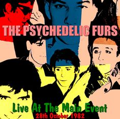 Psychedelic Furs, Live
