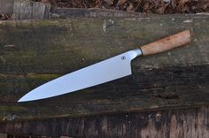 Handmade Tapered Integral Gyuto | Chef Knife #chefknife #handmade #bloodrootblades
