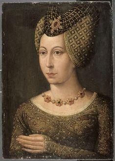 Portrait of Marguerite of Bavaria, Duchess of Burgundy (1363-1424)