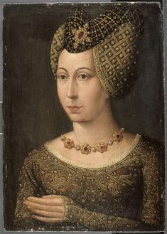 Portrait of Marguerite of Bavaria, Duchess of Burgundy (1363-1424)
