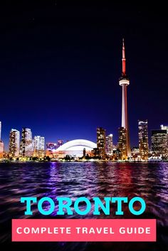 Toronto, Canada: a complete travel guide from someone who lives there. The guide includes famous attractions in Toronto and off the beaten path things to see and do, tips, and more.