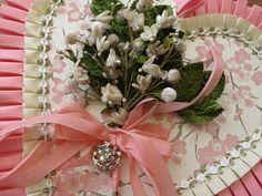 Be Mine ~ Vintage Velvet Millinery Hand Made Valentine Box by Suzanne MacCrone Rogers #vdaymayasway